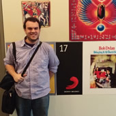 MS in Leadership for Creative Enterprises student Zach Silva at internship with Sony Music